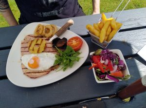 Gammon and eggs